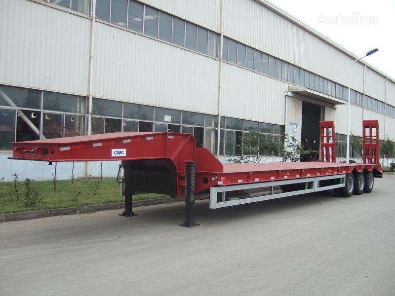 Verkauf von cmt 30t 60t 100t tieflader auflieger aus for Porte engin 60 tonnes