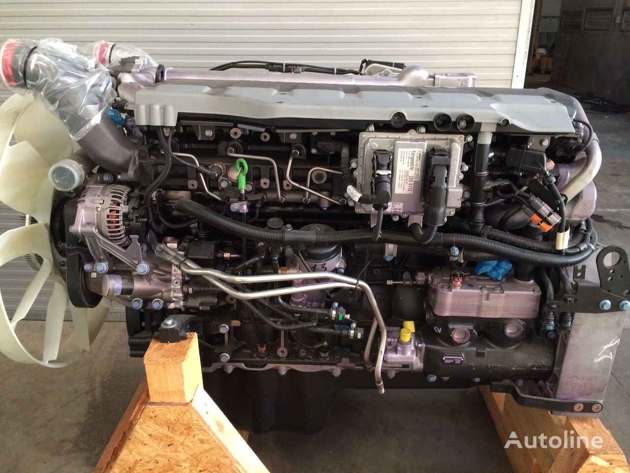 neuer MAN Motor für MAN LKW