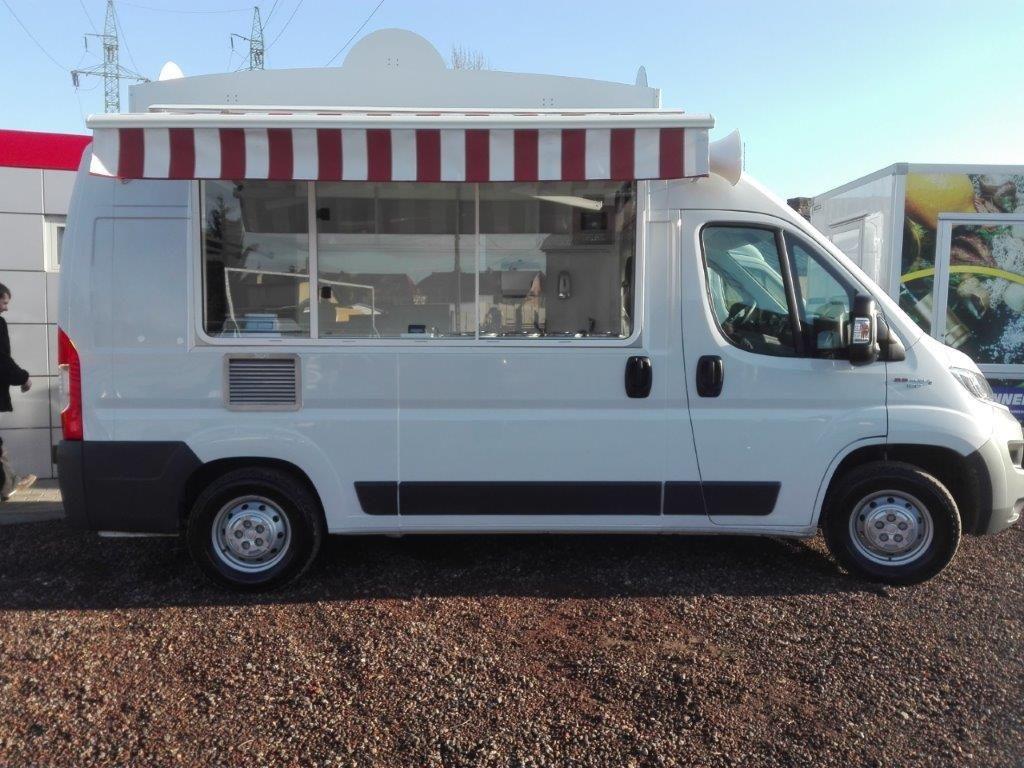 BANNERT Peugeot Boxer L2H2 Verkaufswagen + Verkaufsanhänger